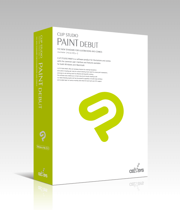 CLIP STUDIO PAINT DEBUT (Win/Mac)