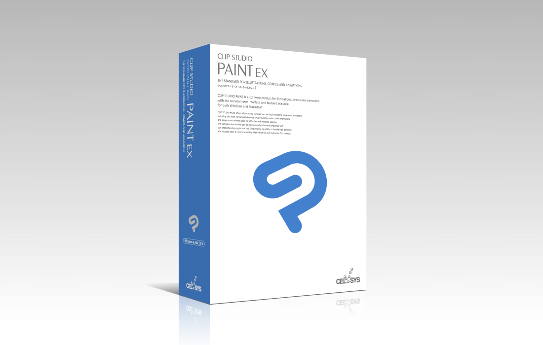 CLIP STUDIO PAINT EX (Win/Mac)