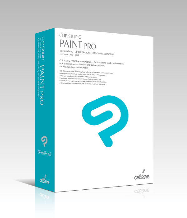 CLIP STUDIO PAINT PRO (Win/Mac)