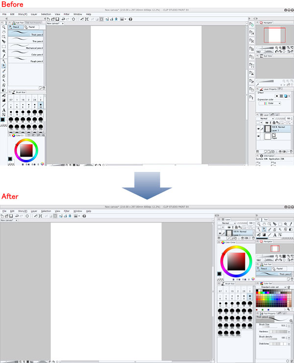 Paint Net Shortcut To Change Brush Size