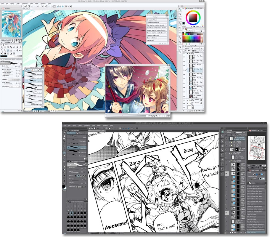 Line Art Studio Serpong : Clip studio paint