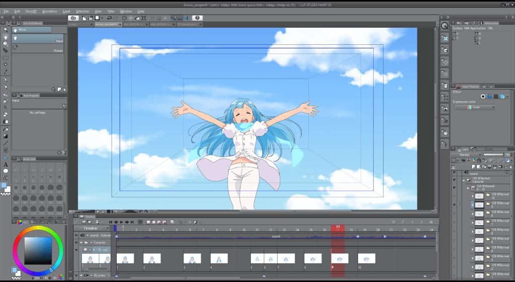 Animation Clip Studio Paint