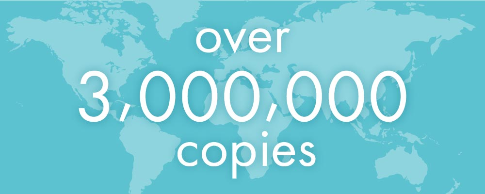 over 3,000,000 copies