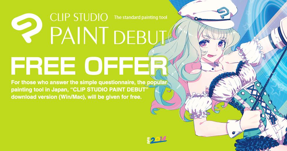 Anime Festival Asia 2014 Special Offer Clip Studio Net