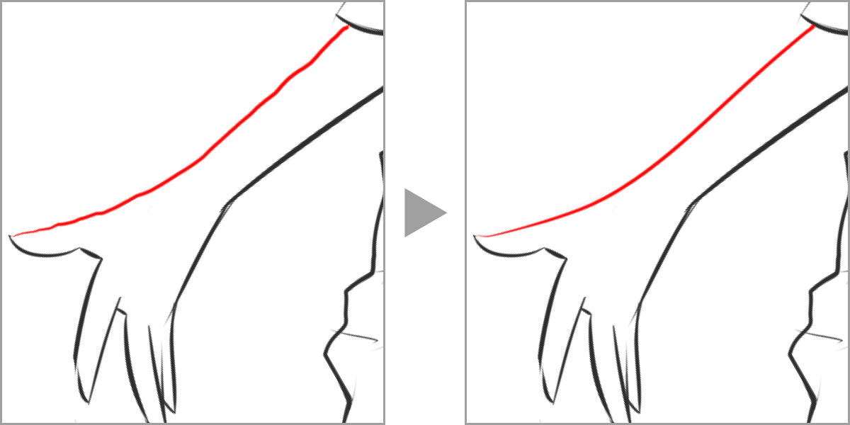 Drawing Smooth Lines In Photo With Tablet : Drawing smooth lines with tablet krzysztof zabłocki