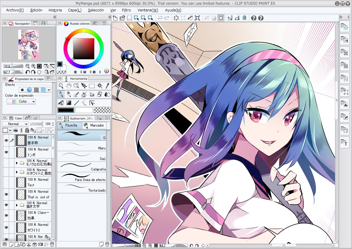 Clip Studio Paint Programa App Para Crear Comics Y Manga