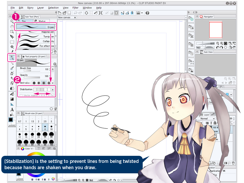 Change Color Of Line To Drawing In Clip Studio Paint