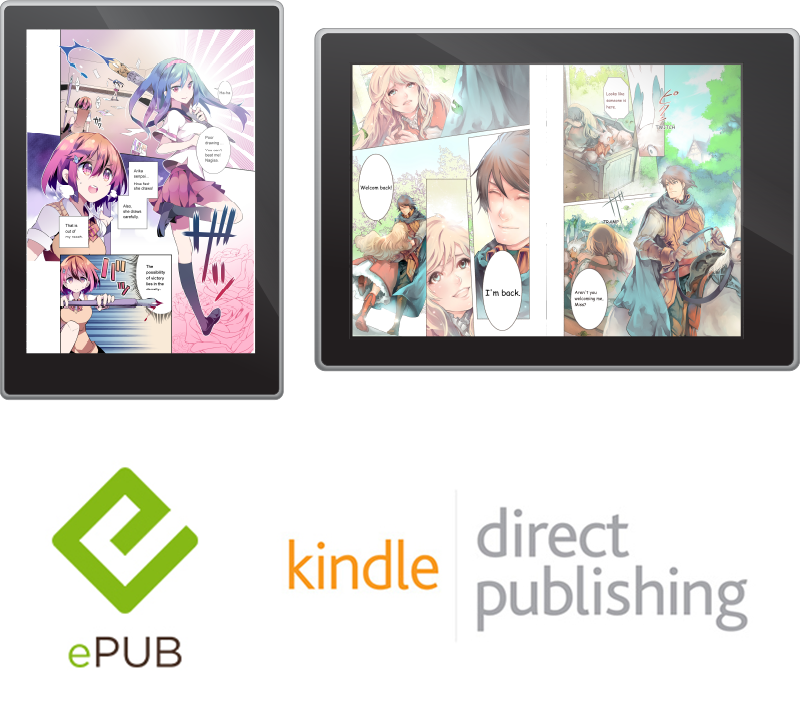 You can even export your work as an ebook / ePub & kindle direct publishing