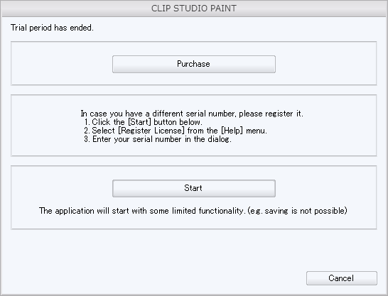 clip studio paint free serial number