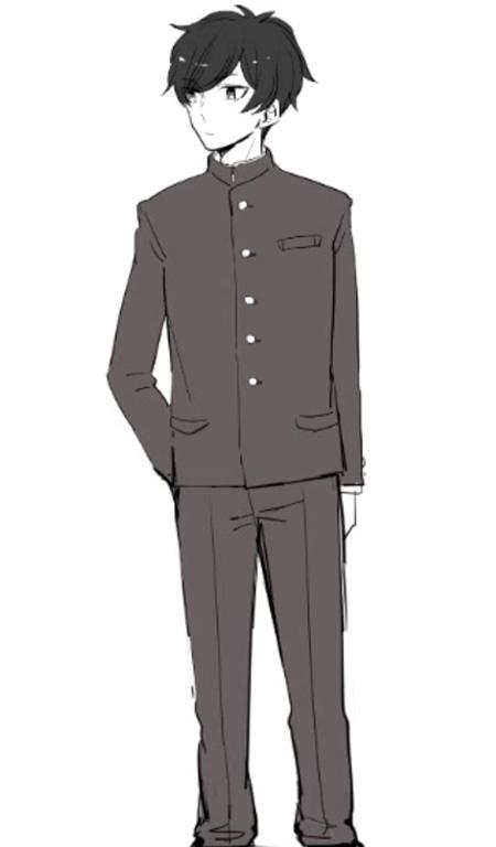 121_男子高校生の制服の描き方講座 (2)
