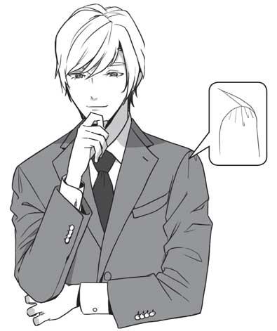 スーツ しわ 描き 方