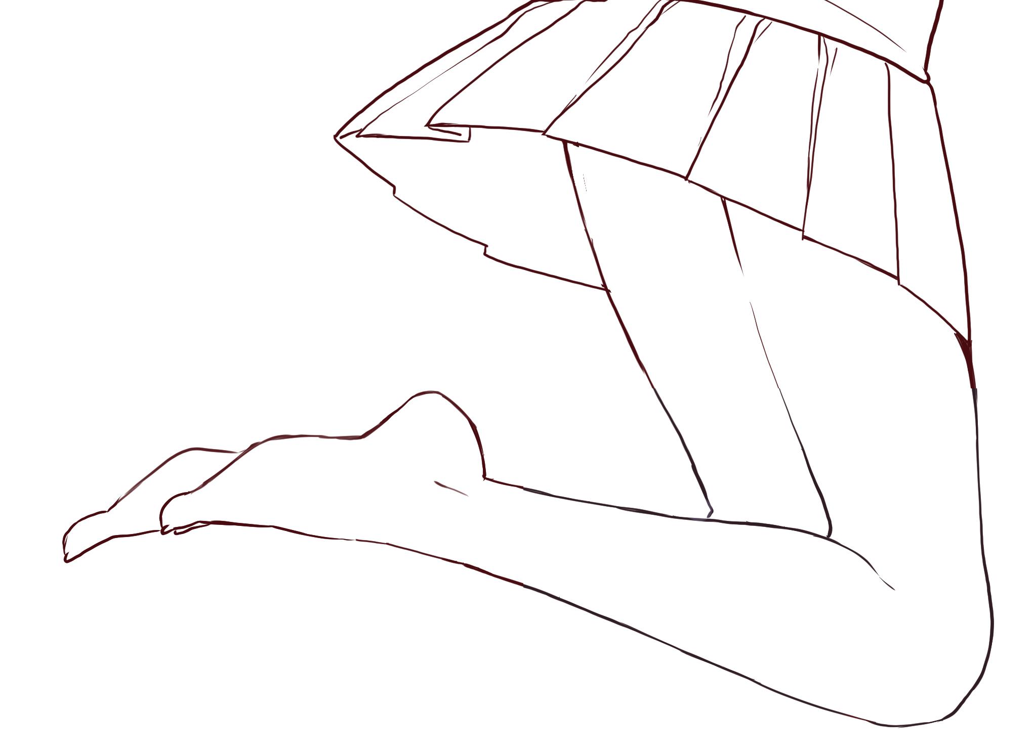 パーツ分けで描ける! 足の描き方講座