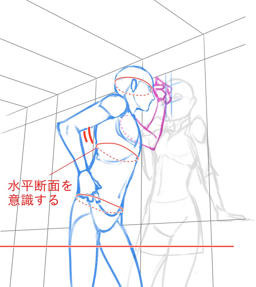 図解すぐにわかる男女の特徴の付け方描き分け イラスト