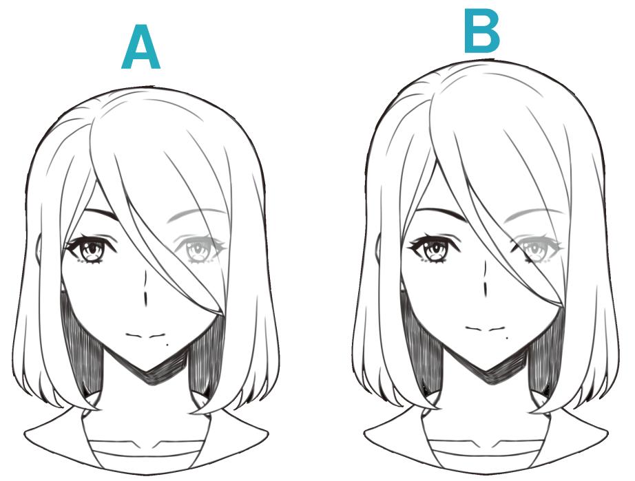顔の描き方】顔のパーツのバランスの取り方・鼻の形を知ろう ...