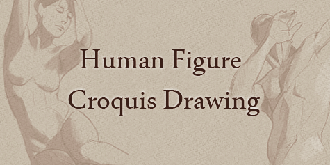 human figure croquis drawing