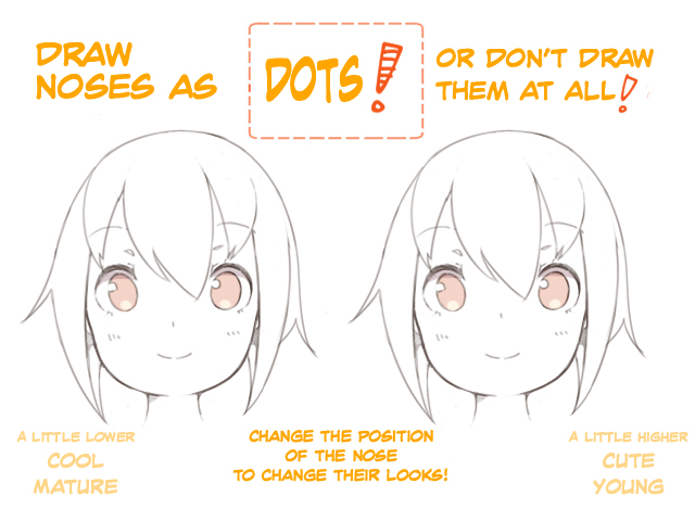 How To Make A Girl S Face Look Cute Art Rocket