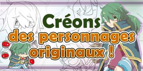 créer personnages originaux