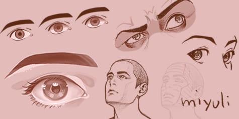 只要理解眼睛構造就畫得出來!眼睛的繪製方法講座