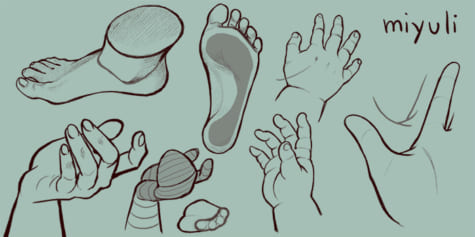 Hand and Feet Tutorial