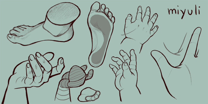 hand and feet tutorial art rocket hand and feet tutorial art rocket