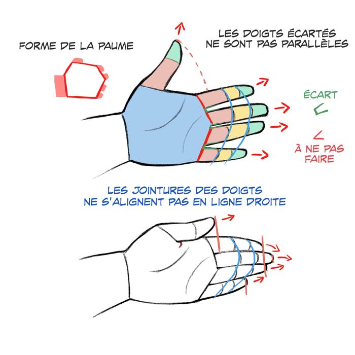 Tutoriel sur le dessin de mains et de pieds | Art Rocket