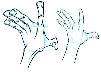 Push Your Poses To The Extreme Drawing Cartoon Hands With