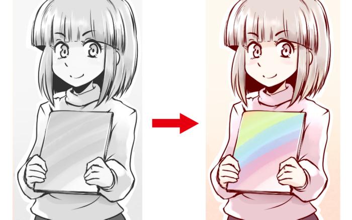 [일러스트 테크닉] 조금 특별해지는 '그리자이유 기법'을 배우자!