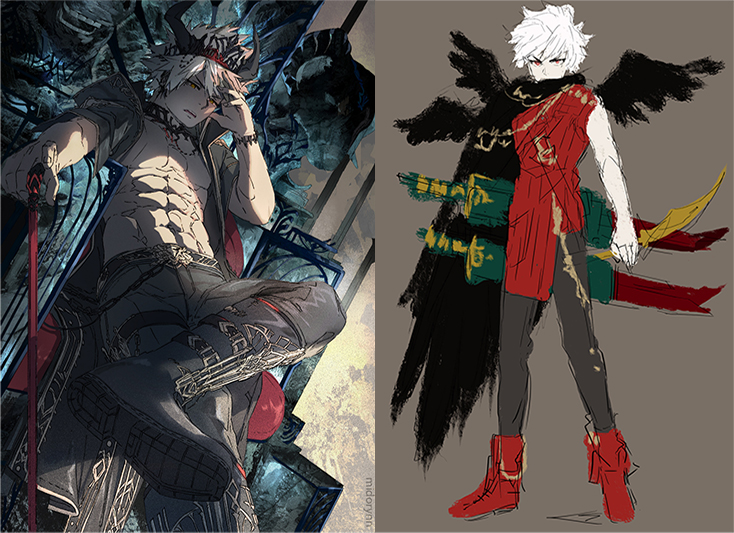 How To Design Characters With Bold Fashion And Strong Silhouettes Art Rocket