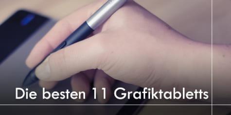 Ideal für Einsteiger - 11 Grafiktabletts zur Auswahl