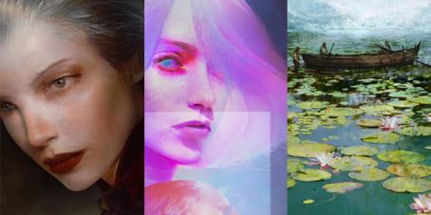 Transposition de techniques de peinture classique vers l'art numérique