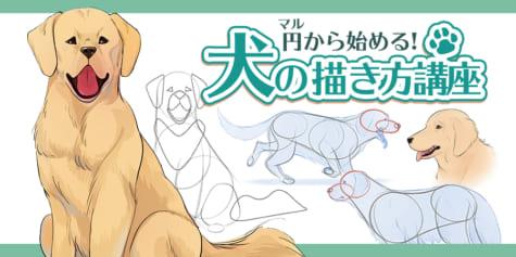 円から始める!犬の描き方講座