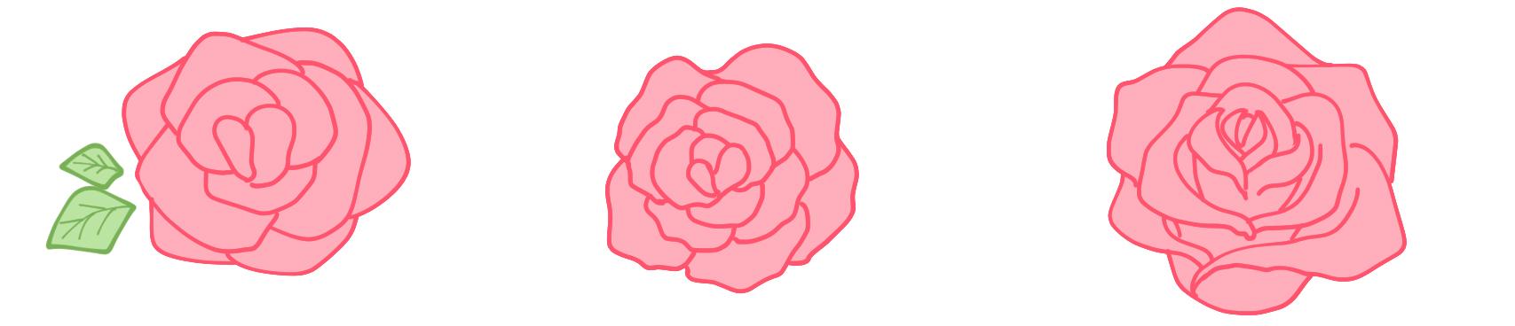 Einfach rosen malen 31 Rose