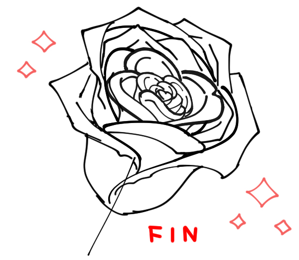 Comment Dessiner Une Rose Art Rocket