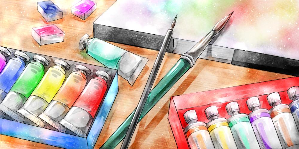 アナログ 絵 イラストを描く道具 憧れの画材を揃えよう デジタル イラスト マンガ描き方ナビ