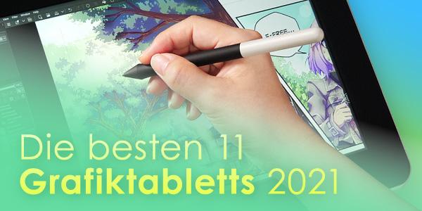 Ideal für Einsteiger - 11 Grafiktabletts zur Auswahl 2021