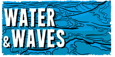 How to draw SEA WATER and WAVES