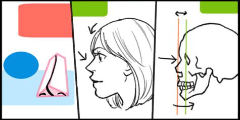 일러스트 쉽게 꾸미기 - 감탄을 부르는 코 그리는 법
