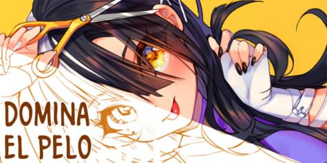 Cómo dibujar y pintar pelo de estilo anime