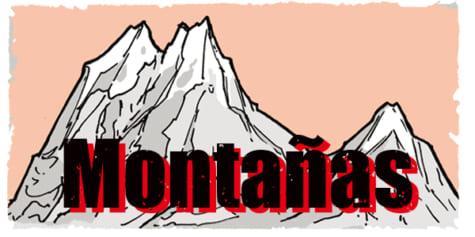 Cómo dibujar montañas