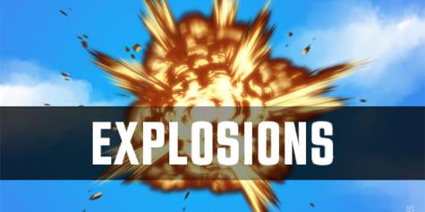 Comment dessiner des explosions
