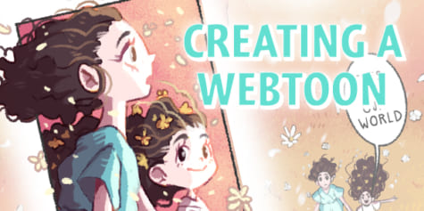 CREATING A HAND-CRAFTED STYLE WEBTOON